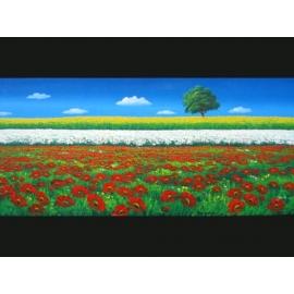 y00005畫作系列-油畫 風景(P1-2-016)