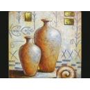 y00895 油畫 花瓶(P1-2-017)