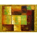 y00388 油畫 抽象(P1-2-018)