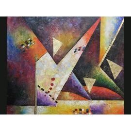 y00391 油畫 抽象(P1-2-021)