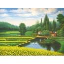 y00006 油畫 風景(P1-2-026)