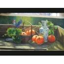 南瓜(P1-2-030)-y000044 油畫