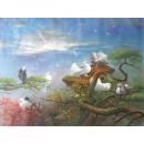y00080 油畫 鴿(P1-2-038)