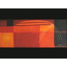 y00081 油畫 貓咪(P1-2-047)