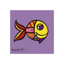 y09412 複製畫 Swimmingly Purple