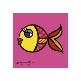 y09413 複製畫 Swimmingly Pink