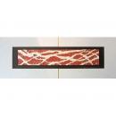 紅底銀樹根 y13008 玻璃壁飾系列