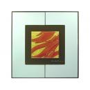 玻璃壁飾  月芽紅 y12999 玻璃壁飾系列