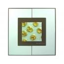 銀底金玫瑰 y12998 玻璃壁飾系列