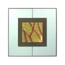 金底紅樹根 y12997 玻璃壁飾系列