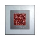 紅玫瑰 y12994  玻璃壁飾系列