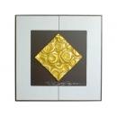 金玫瑰 y12987 玻璃壁飾系列