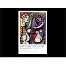 y02044 複製畫 Picasso 畢卡索-鏡前的女孩(P994)