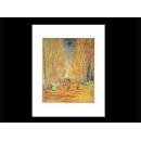 y09480 複製畫 Vincent van Gogh 文生梵谷-白楊樹(PF203)