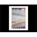 y09482 複製畫 Hiroshige 安藤廣重-雨景(PF495)