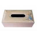 y12433-比得兔系列-米咖色皮革面紙盒(SH007F)