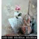 樂器(UVB-046)-y000056 油畫