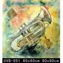 樂器(UVB-051)-y000058 油畫