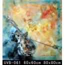 樂器(UVB-061)-y000061 油畫