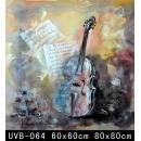 樂器(UVB-064)-y000062 油畫