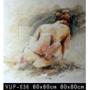 背面女人(VUP-036)-y01152 油畫