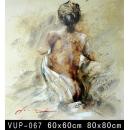 背面女人(VUP-067)-y01154 油畫