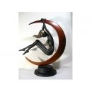 No.008 玄月之女 y13058 立體雕塑.擺飾 立體雕塑系列-人物雕塑系列