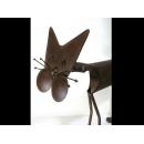 y13360 鐵材藝術-鐵材擺飾-貓來富