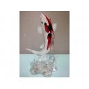 藝術玻璃-小錦鯉 y12359 水晶飾品系列-小錦鯉A25 (大錦鯉)A30