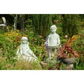 天使戶外庭園擺飾-y16215 空間佈置實際案例 - 庭園景觀