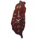 Taiwan寶島台灣掛鐘  y13493 時鐘.溫度計.鏡子 溫度計.壁掛鐘