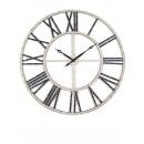 y15837  時鐘.溫度計.鏡子- 壁掛鐘- 新款復古壁掛鐘