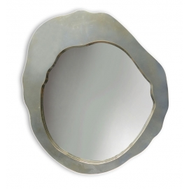 y15901 時鐘.溫度計.鏡子- 鏡子  圓鏡