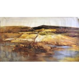 抽象山水-y16452 - 油畫-油畫抽象系列/ 創作手繪油畫.客廳.餐廳.臥室.玄關畫
