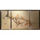 事事如意-三入一組(80x80cm/1幅  40x80cm/2 幅)  y15490 - 畫作系列 - 油畫 - 油畫靜物系列