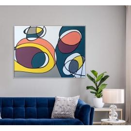 原創魔力-y16407 - 油畫-油畫抽象系列/ 創作手繪油畫.客廳.餐廳.臥室.玄關畫
