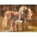 人物(楊貴妃) y16457 畫作系列-油畫- 油畫人物系列/ 玄關.走廊.過道.意境掛畫.餐廳