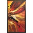 抽象油畫(含框)-y15291-油畫抽象系列