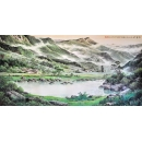 文悅山水畫(y00950 國畫-國畫山水系列 文悅山水畫)