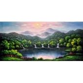 油畫山水系列
