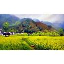風景鄉村油畫-y12811-風景鄉村油畫(另有其他尺寸)