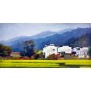 風景鄉村油畫系列 -y12814 油畫- 風景鄉村油畫系列 (另有其他尺寸)