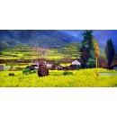 風景鄉村油畫系列-y12815 油畫 - 風景鄉村油畫系列 (另有其他尺寸)