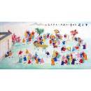 y12834 國畫人物-百子圖---已售出(無庫存)