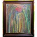 油畫- 抽象油畫(楊忠豪創作作品) - y13685 畫作系列