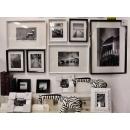 黑白攝影- 相片牆套畫2 (y13810 攝影作品-w168xh73cm七幅一組不單售含框尺寸)