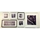 黑白攝影- 相片牆套畫1(y13811 攝影作品-w170xh65cm-六幅一組含框尺寸)