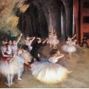 舞蹈題材(人物)系列-芭蕾舞-y13976 畫作系列-油畫人物系列