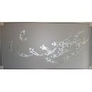 y14033 畫作系列-油畫- 油畫動物系列- 魚 - 九如 (錦鯉) - 另有款式