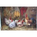 鄭雪香創作作品-大吉圖系列之一A047 -畫作系列-y15193-油畫